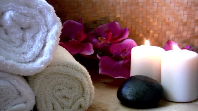 spa materiałów - terapia lastone filmów i materiałów b-roll