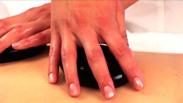 spa & piękno - terapia lastone filmów i materiałów b-roll