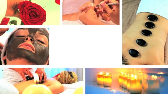 beauty Spa-Behandlung & – Video