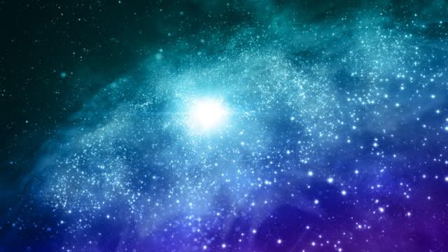 Space galaxy video