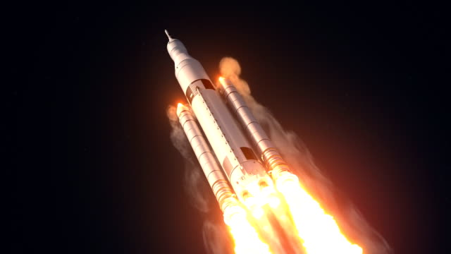 Space Launch System Takes Off video