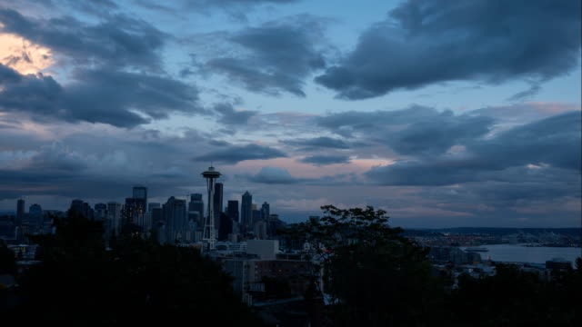 space needle time lapse