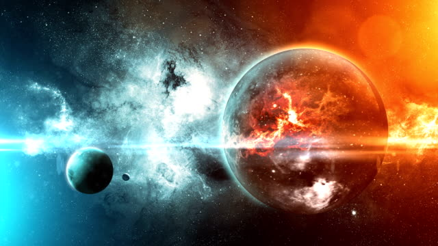 Space Planet Background Earth And Planet View 4k Stock Video Download Video Clip Now Istock