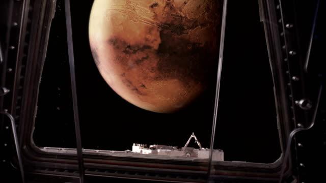 rymdskeppet i mars omloppsbana. - mars bildbanksvideor och videomaterial från bakom kulisserna
