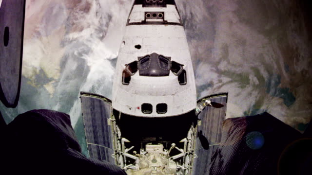 Space Shuttle Docks video