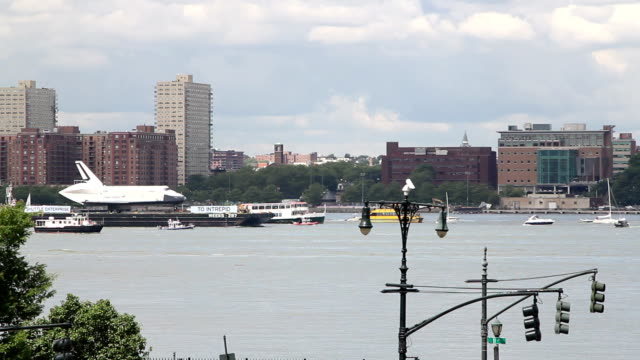Space Shuttle in New York video