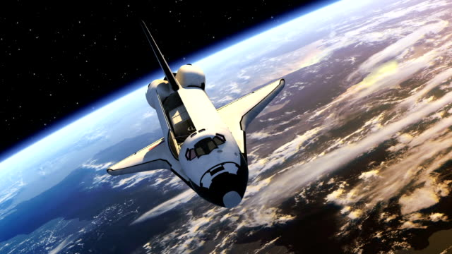 Space Shuttle Payload Bay Doors Opens video