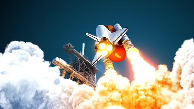 4k. 太空梭起飛。 - 四k 解析度 個影片檔及 b 捲影像