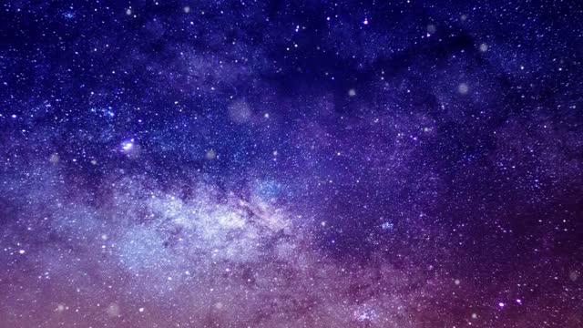 宇宙旅行スター - 星型点の映像素材/bロール