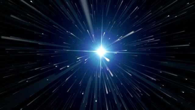 Space travel towards the Sirius video