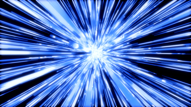 Space Tunnel abstract video