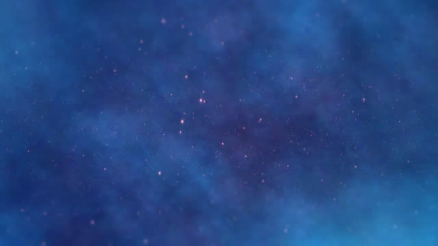 Space Universe With Stars And Galaxies Moving video