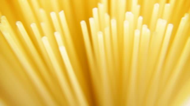 Spaghetti pasta - loopable video