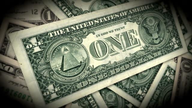 Span through a dollar bill video