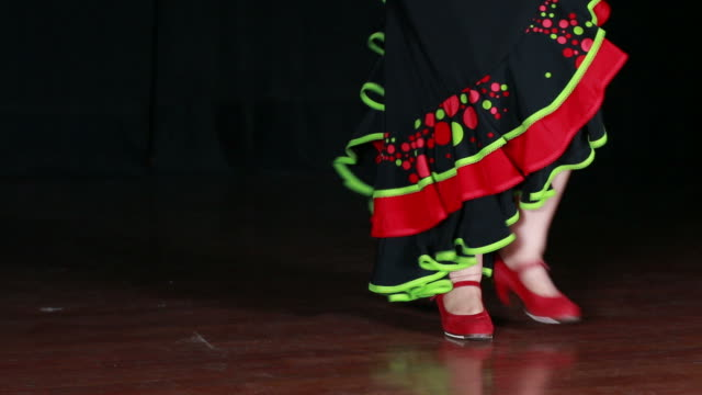 Spanish Dance Red Shoes video
