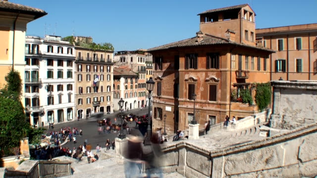 Spanish Steps - Rome, Italy video