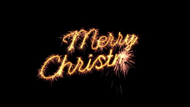 tomtebloss text animation merry christmas nytt år hälsning loopable - text bildbanksvideor och videomaterial från bakom kulisserna