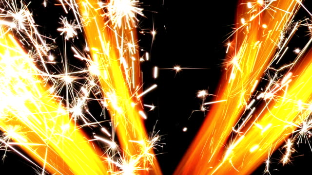 Sparklers burning Sparklers burning explosive stock videos & royalty-free footage