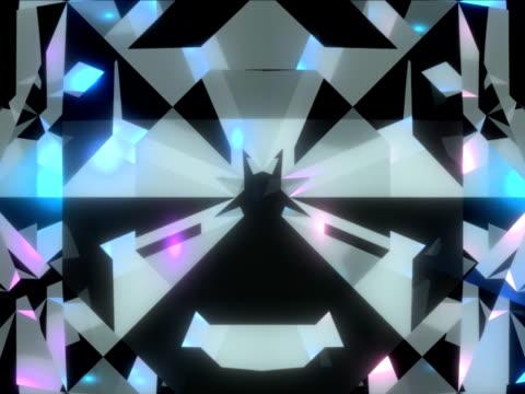 sparkling diamond background - 可循環移動圖像 個影片檔及 b 捲影像
