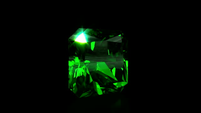 Sparkling Emerald loopable video