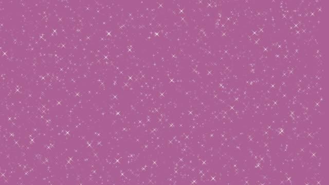 pırıl pırıl parıltılı yıldızlar pırıl pırıl arka plan bling - bling bling stok videoları ve detay görüntü çekimi