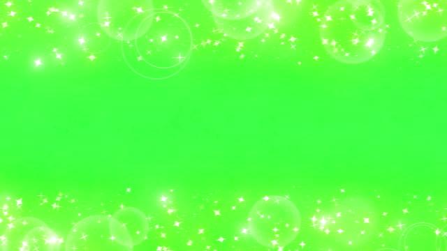 輝くグラフィック粒子 - フレーム点の映像素材/bロール