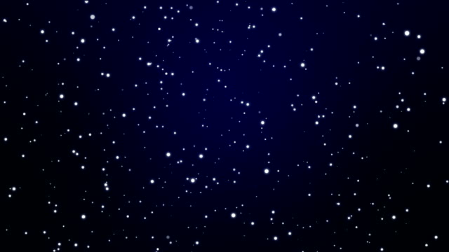 Sparkling night sky particle background