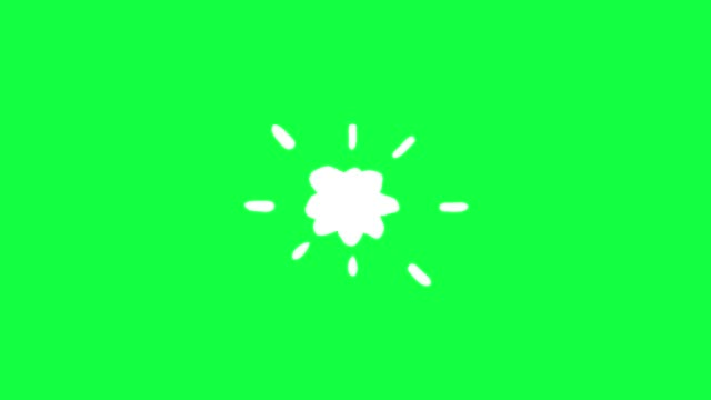 Sparkling star 2d green screen Burst And Sparks star 2d green screen cartoon stock videos & royalty-free footage