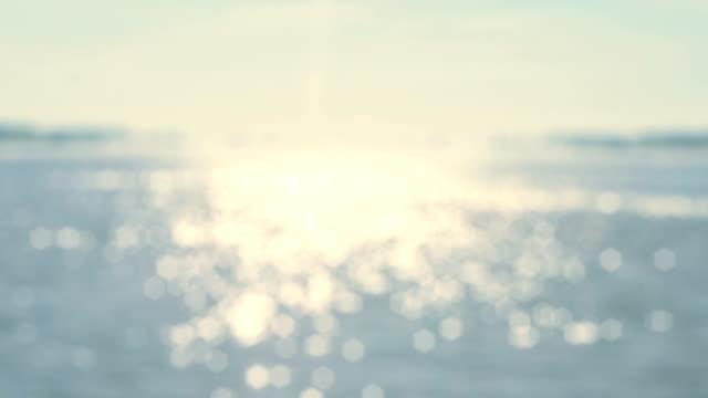 きらめく水面ループ - 光沢点の映像素材/bロール