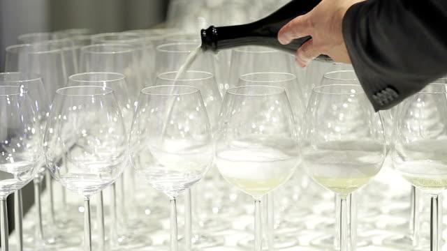 Sparkling wine video