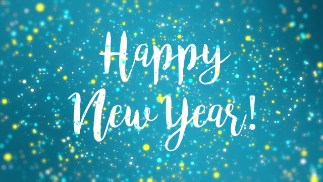 Sparkly blue yellow happy new year greeting card video stock video sparkly blue yellow happy new year greeting card video stock video more clips of 2019 956110072 istock m4hsunfo