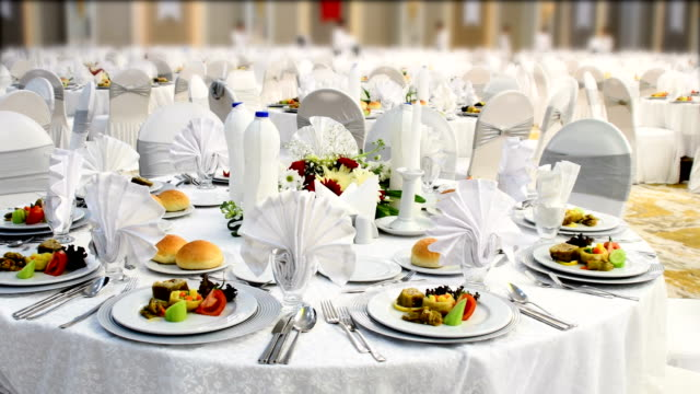 Special Dinner Luxury Gala Dinner tasting stock videos & royalty-free footage