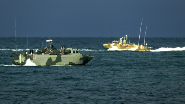 special forces boats at sea