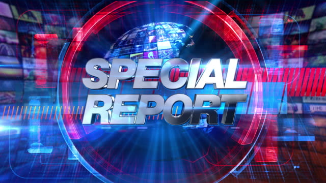 Special Report - Broadcast Graphics Title Animation 4K Special Report graphic main title, videos and images in the background. See other versions in this series to complete your broadcast package. breaking stock videos & royalty-free footage