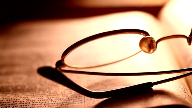 Spectacles And A Book video