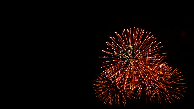 spectacular fireworks with audio - canada day stock videos & royalty-free footage