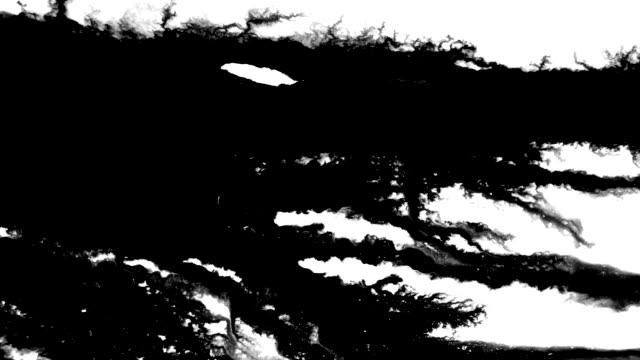 spectacular flow of ink streaming across the screen - pędzel do malowania filmów i materiałów b-roll