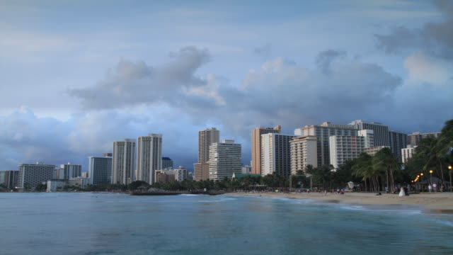 Spectacular Honolulu Sunset
