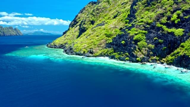 菲律賓埃爾尼多的壯觀景觀 - 東南 個影片檔及 b 捲影像