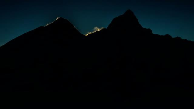 Spectacular Mount Everest Sunrise video