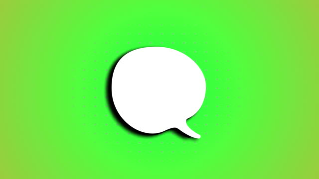 Speech Bubble Animation speech bubbles with dots background speech bubble stock videos & royalty-free footage