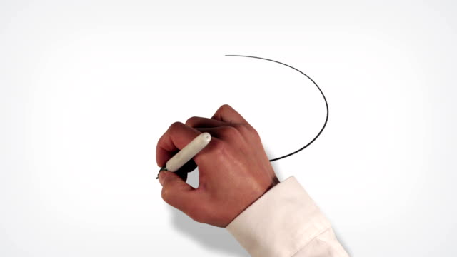 Speech Bubble Whiteboard Stop-Motion Style Animation video