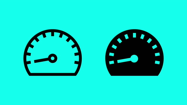 Speed Meter - Vector Animate video