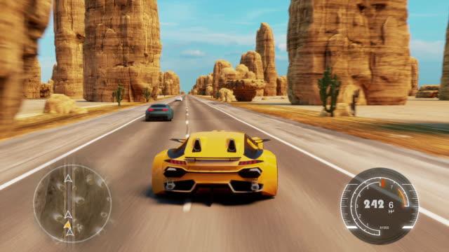 Speed Rasing 3d Video Game