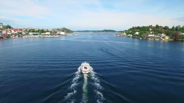 Speeding along the Kragero coastline video