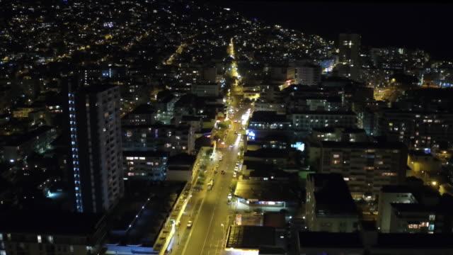 Speeding through the city streets video