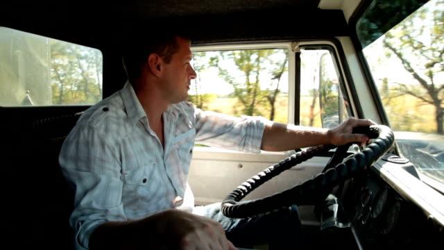 Speeding Truck video