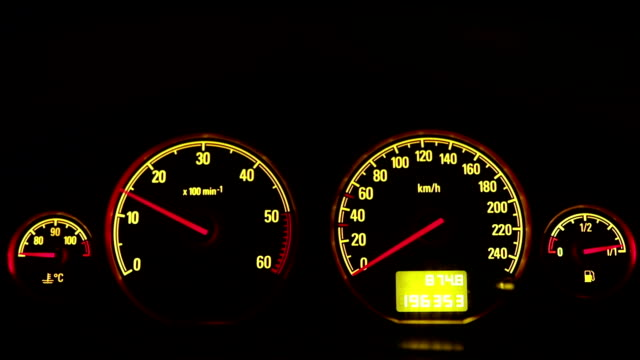 speedometer- close up