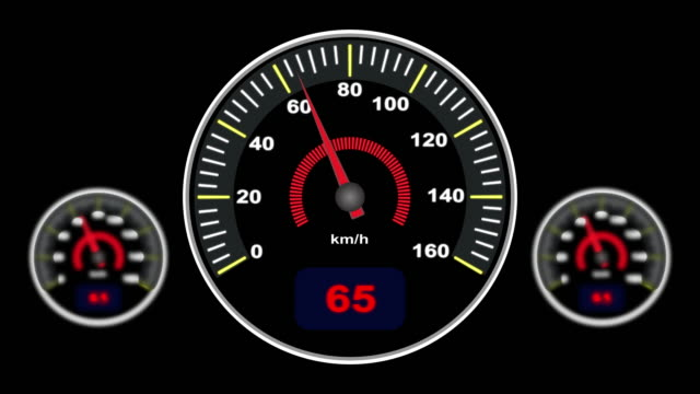 speedometer motion video