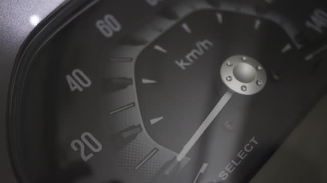 Speedometer Ready motorcycle instrument of measurement stock videos & royalty-free footage